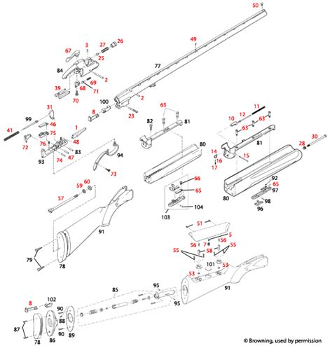 Browning Bt99 Parts At Brownells