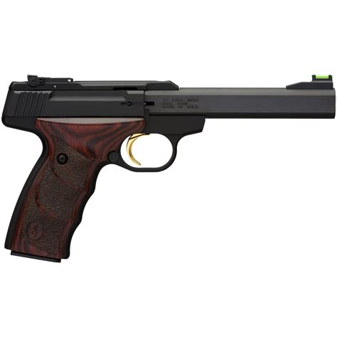 Browning Buck Mark Iv 22 Long Rifle With Wooden Grips