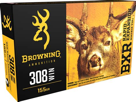 Browning Bxr 308 Win 155gr On Target Sporting Arms