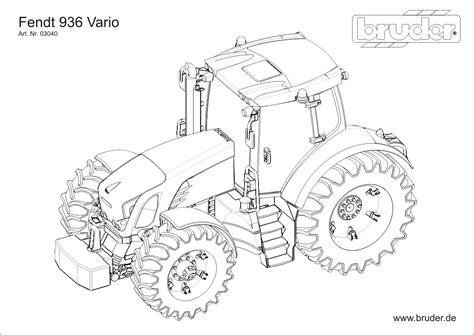 Bruder Ausmalbilder Traktor