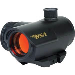 Bsa Optics 20mm Illuminated Red Dot Scope