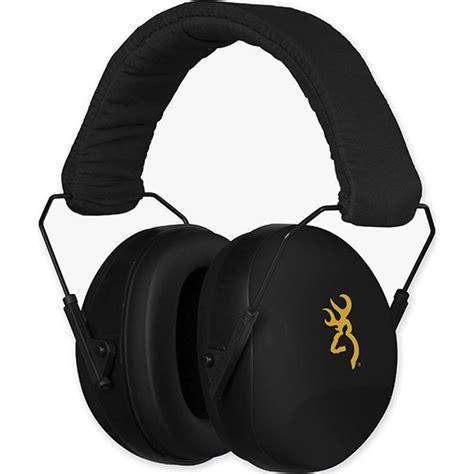 Buckmark II Hearing Protector Black - Browning Com