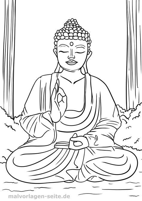 Buddha Malvorlagen Ausdrucken