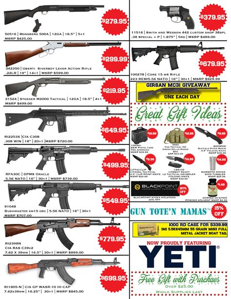 Buds-Guns Buds Gun Shop Black Friday 2016.