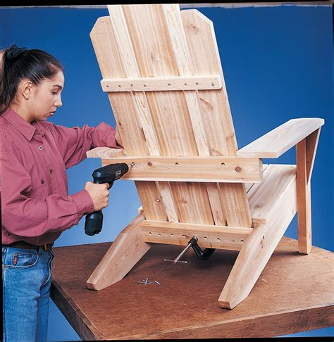 build adirondack chair from trex