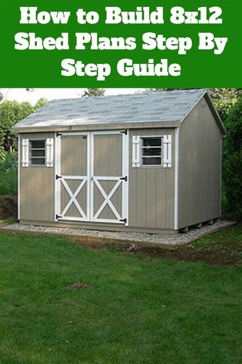 Build 8x12 shed Image