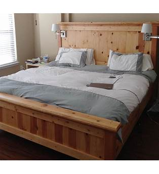 Best 27 Build A King Size Bed Frame Plans Woodworking Projects
