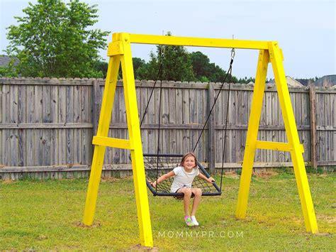 Build a swing set a frame Image