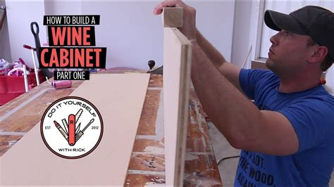 Build a wine cabinet part one Image