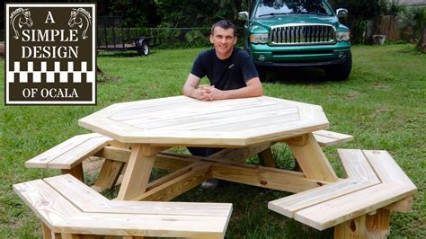 Build an octagon picnic table part 1 Image