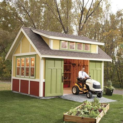 Build an outdoor shed Image