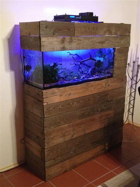 Build aquarium stand wood Image