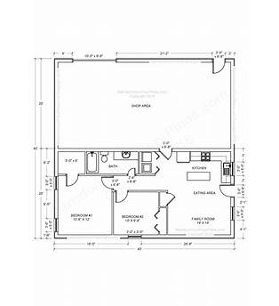 Build Floor Plan For Pole Barn