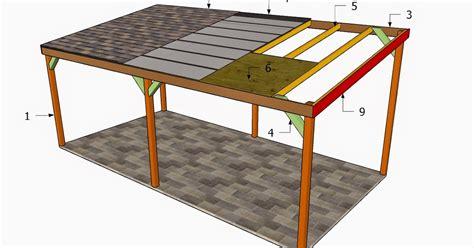 Build wood carport plans Image