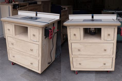 Build your own router table free plans Image