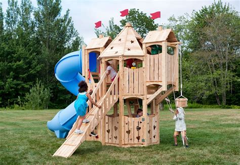 Build your own wooden playset Image