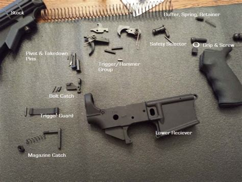 Building Ar 15 Lower Instructions