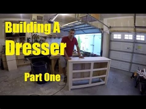 Building a dresser part 1 top sides face frame Image