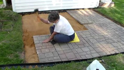 Building a paver patio and firepit Image