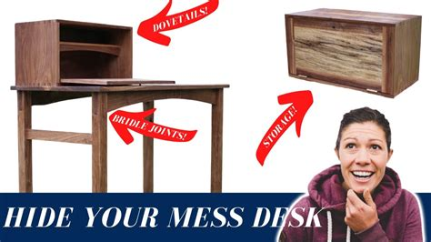 Building a walnut writing desk with the wood whisperer Image