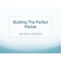 Coupon for building the perfect pitcher