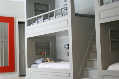 Built in bunk bed plans free Image