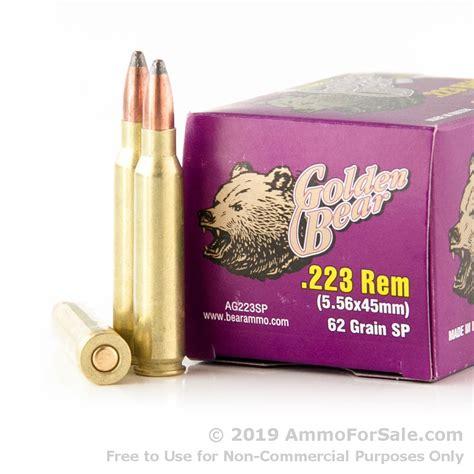 Bulk 62gr 223 Ammo