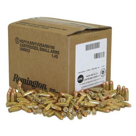 Bulk 9mm Ammo Brass 1000 Rounds