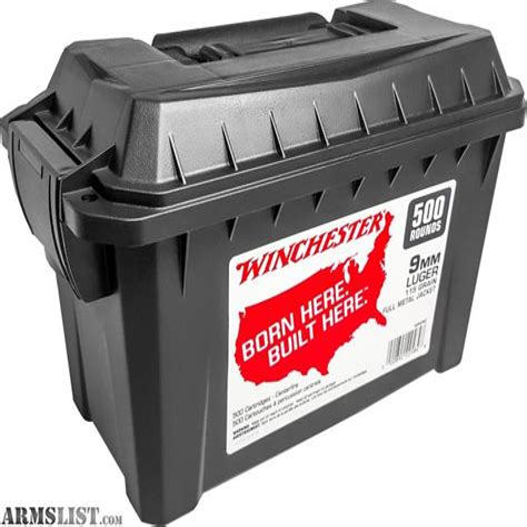 Bulk 9mm Auto Ammo