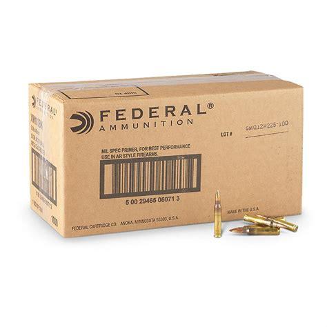 Bulk Federal 223 Ammo Free Shipping
