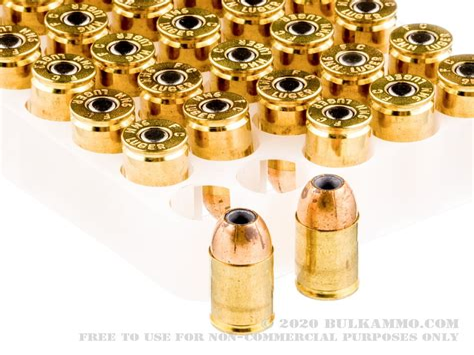 Bulk Hollow Point 9mm Ammo