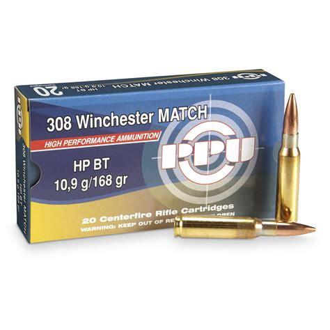 Bulk Match 308 Ammo