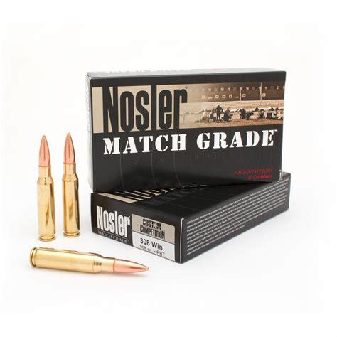Bulk Match Grade 308 Ammo
