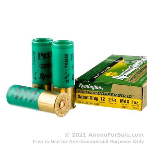 Bulk Shotgun Slug Ammo