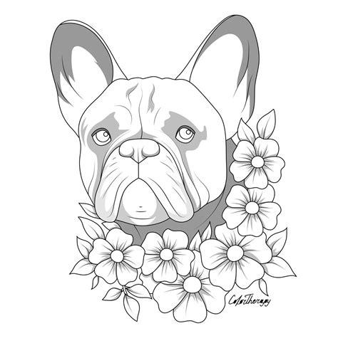 Bulldog Malvorlage