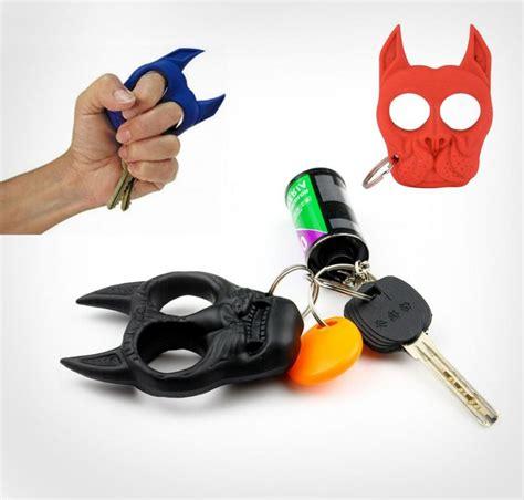 Bulldog Self Defense Keychain
