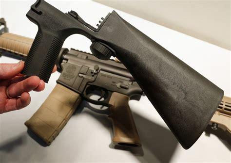 Bump Stock Assault Rifle