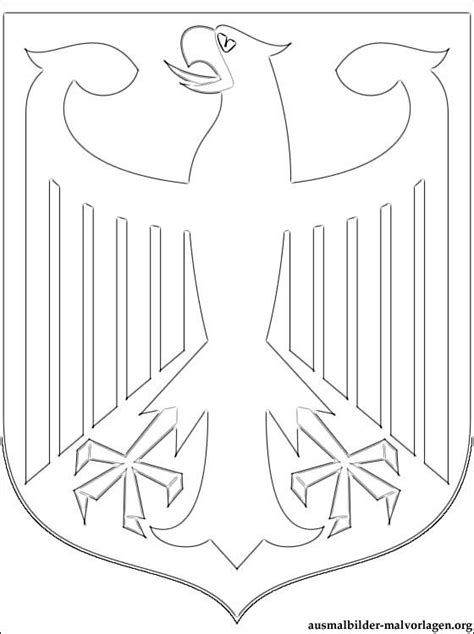 Bundesadler Malvorlage