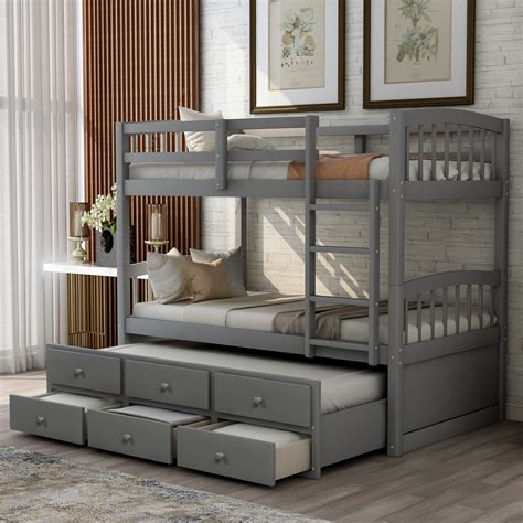 Bunk Beds For 3 Kids