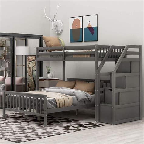 Bunk Beds For Teenagers With Stairs