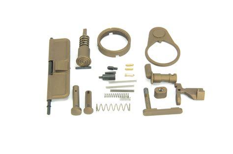Burnt Bronze Ar15 Lower Parts Kit