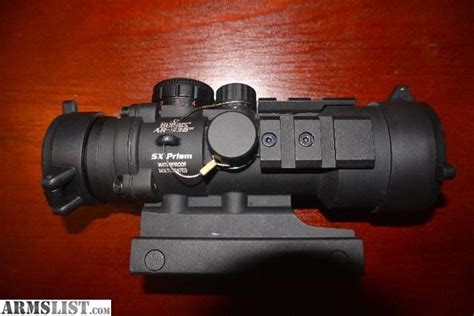 Burris Ar536 Prism 5x 36mm Tactical Red Dot Sight