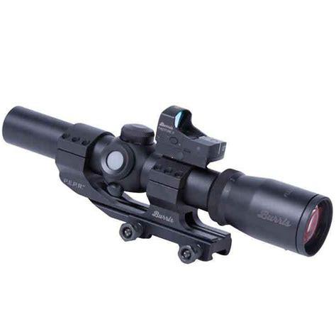 Burris Fullfield Tac30 Rifle Scope With Fastfire Ii