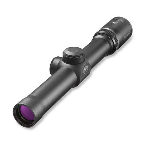 Burris Scout Scope 275x20mm Heavy Plex Reticle 275x20mm Heavy Plex Reticle Matte Black