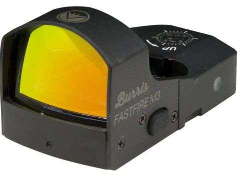 Burris Tmpr Fastfire M3 Red Dot Relex Sight With Mount Tmpr Fastfire M3 Red Dot Reflex Sight With Mount