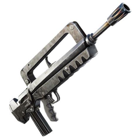 Burst Assault Rifle Transparent