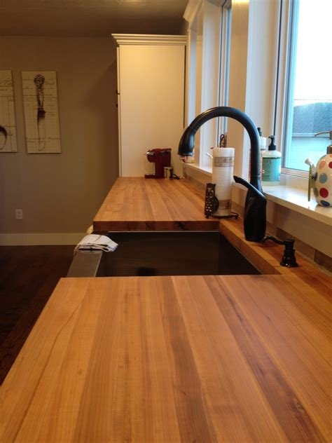 Butcher block tops Image