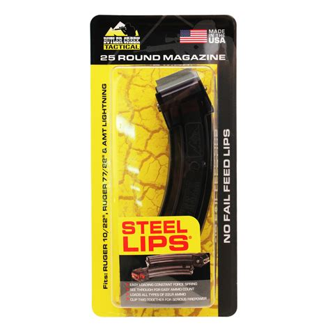 Butler Creek Steel Lips Ruger 10 22 25 Round Mag Review