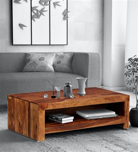 buy solid wood coffee table