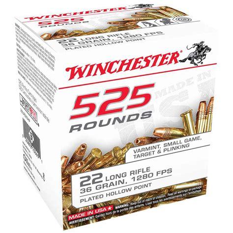 Buy 22 Long Rifle Ammo In Bulk